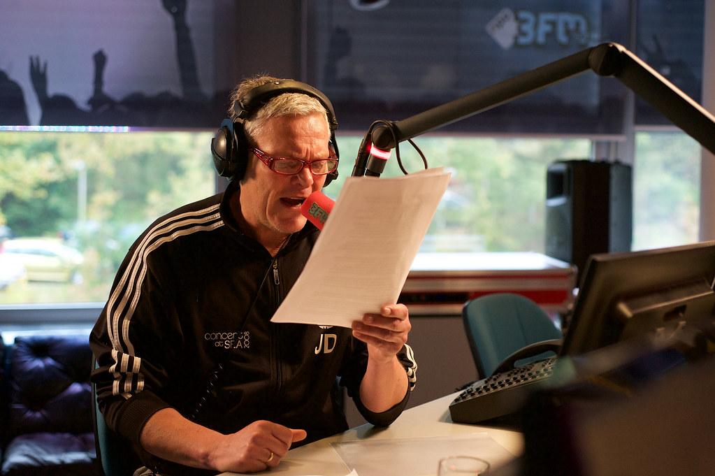 Joep van Deudekom, foto: 3FM